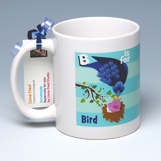 B is for Bird<BR><span class=bluebold>(Personalize)