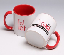 "Browser History ""Love"" Mug"