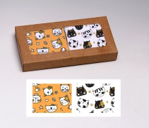 Cats ADJUSTABLE <BR>Face Masks Gift Box