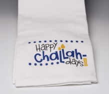 Happy Challah Days Towel