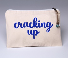 Cracking Up Pouch