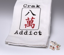 Crak Addict Towel<BR><span class=bluebold>(Personalize)