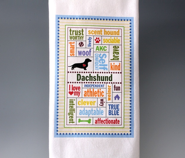 Dachshund<BR><span class=bluebold>(Personalize)