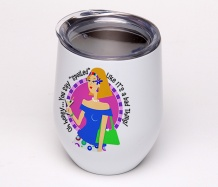 Spoiled Diva<BR>Stemless Wine Glass Tumbler