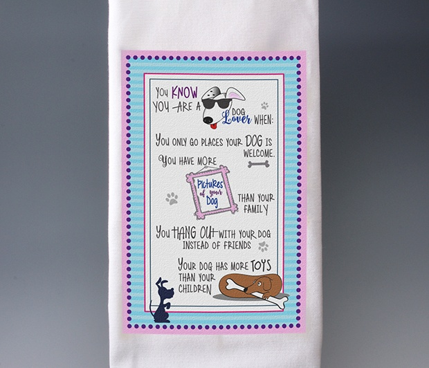 Dog Lover Towel