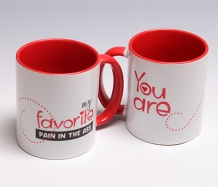 "Favorite Pain ""Love"" Mug"