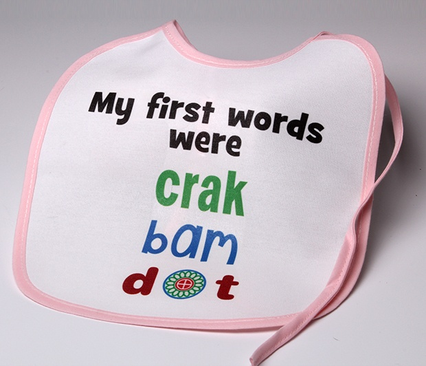 First Words Bib