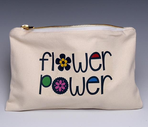 Flower Power (Deluxe) pouch