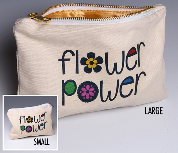 Flower Power Pouch