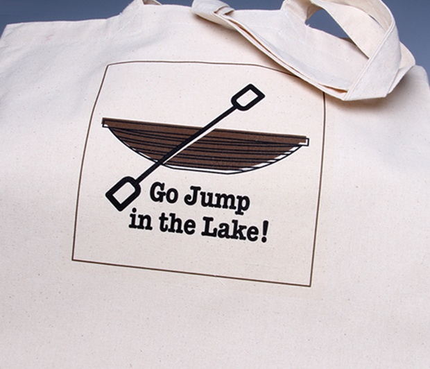 Go Jump in the Lake! Tote