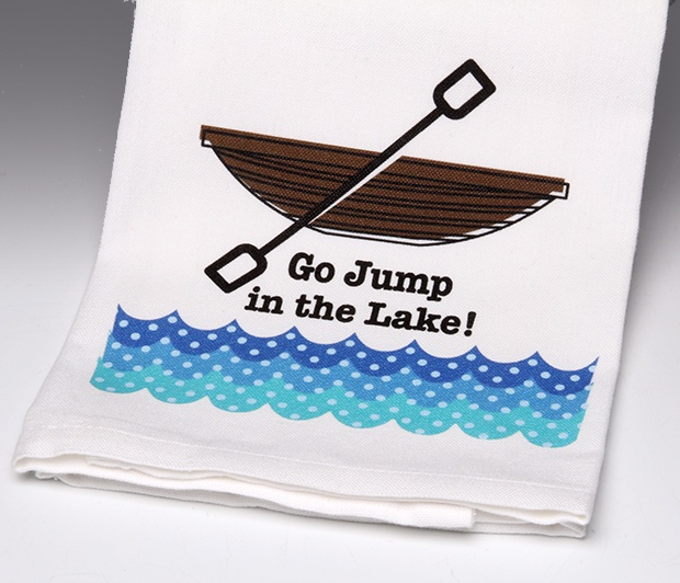 Go Jump in the Lake!Towel