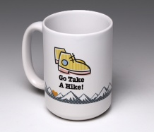 Go Take a Hike! Mug