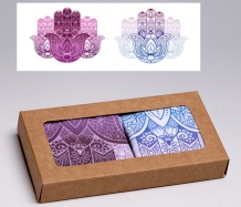 Hamsa ADJUSTABLE<BR>Face Masks Gift Box