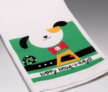 Happy Howl-days! Towel