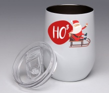 HO3<BR>Stemless Wine Glass Tumbler