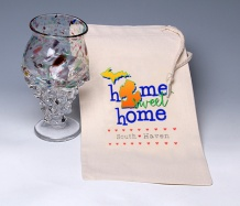 Home Sweet Home Wine Bag