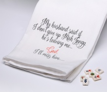My Husband... Towel<BR><span class=bluebold>(Personalize)