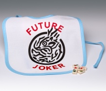 Future Joker Bib