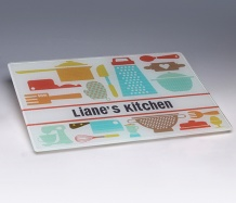 Kitchen Cutting Board<BR><span class=bluebold>(Personalize)