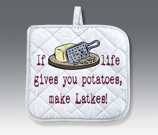 Latke Pot Holder