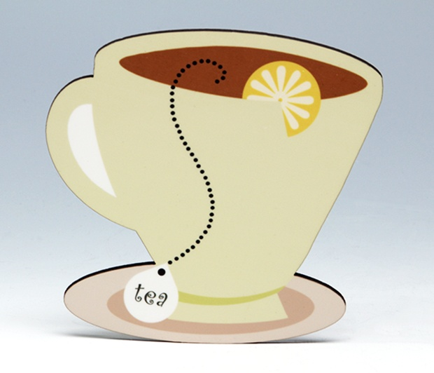 Lemon Tea Cup Coaster