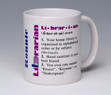Librarian Mug<BR><span class=bluebold>(Personalize)