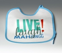 Live Laugh Bib