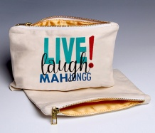 Live Laugh MJ (Deluxe) pouch