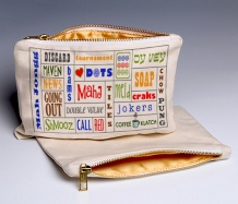 Mah Jongg Words (Deluxe) pouch