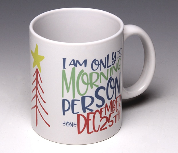 Morning Person Mug <span class=bluebold>(Personalize)