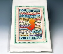 New Jersey Towel<BR><span class=bluebold>(Personalize)