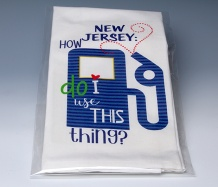 NJ Towel<BR><span class=bluebold>(Personalize)