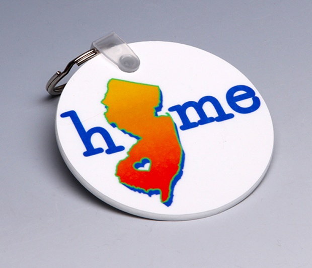 YOUR Home State Keychain<BR><span class=bluebold>(Personalize)