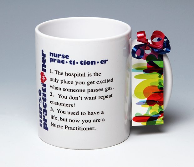 Nurse Practitioner Mug<BR><span class=bluebold>(Personalize)