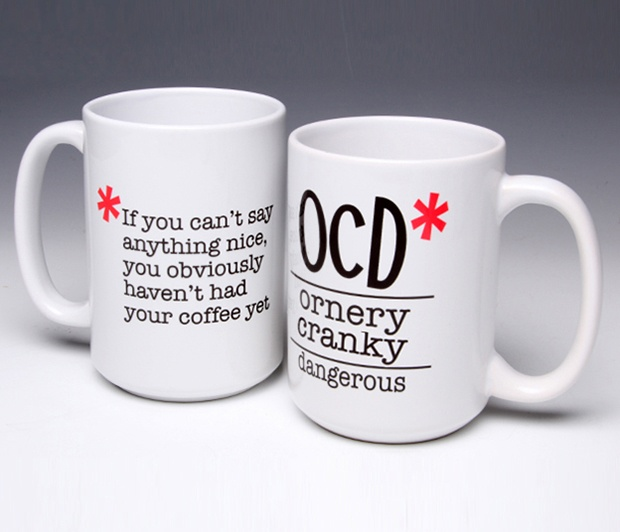 OCD Mug/No Coffee Yet