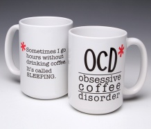 OCD Mug/Sleeping