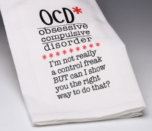 OCD Towel/Control Freak