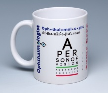 Ophthalmologist Mug<BR><span class=bluebold>(Personalize)