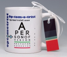 Optometrist Mug<BR><span class=bluebold>(Personalize)