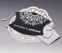 "RBG ""Revolution"" <BR>ADJUSTABLE Face Mask<BR>FREE SHIPPING"