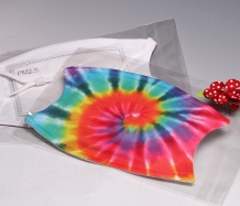Multi ADJUSTABLE Face Masks<BR> Tie Dye<BR>FREE SHIPPING
