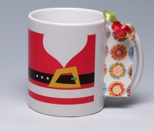 Merry Christmas Mug <span class=bluebold>(Personalize)