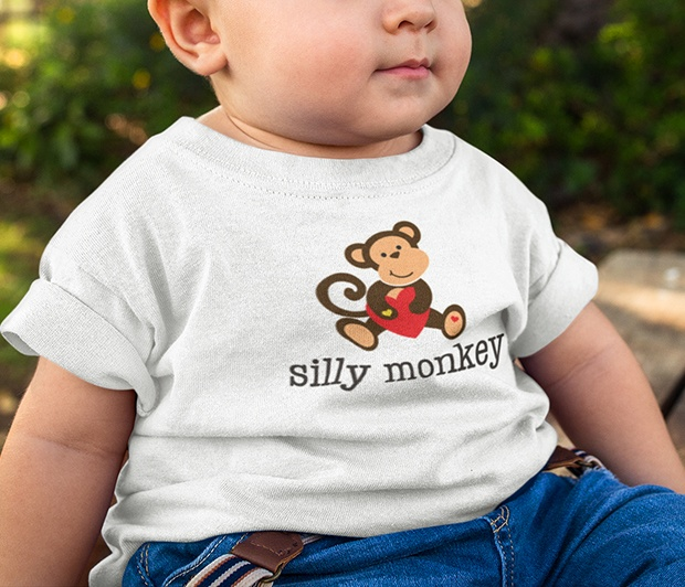 Silly Monkey Toddler Tee