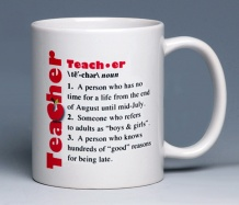 Teacher Mug<BR><span class=bluebold>(Personalize)