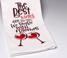 The Best Wines Towel