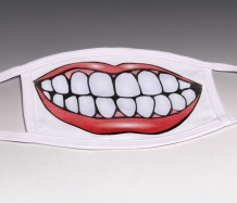 TOOTHY GRIN Face Masks<BR>(Choice of Designs)<BR>FREE SHIPPING